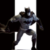 Batman Black & White: The New 52 By Jim Lee Statue