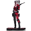 DC Comics Injustice 2 Harley Quinn Red White & Black Statue