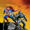 The Dark Knight Returns: Superman Vs. Batman Statue