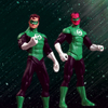 Green Lantern Rebirth Action Figure Collector Set