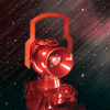 Blackest Night: Red Lantern 1:4 Scale Power Battery & Ring Prop