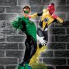 DC Direct: Ultimate Showdown: Green Lantern Vs. Sinestro Statue Set