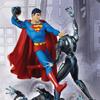 DC Direct: Superman Vs. Brainiac Statue