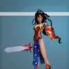 Ame-Comi Heroine Series: Wonder Woman Re-Paint PVC Figure