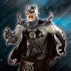 Heroes Of DCU: Blackest Night Black Lantern Batman Bust