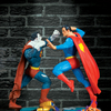Ultimate Showdown: Superman Vs. Bizarro Statue Set