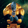 Heroes Of The DCU: Blackest Night Sinestro Corps Member Arkillo Bust