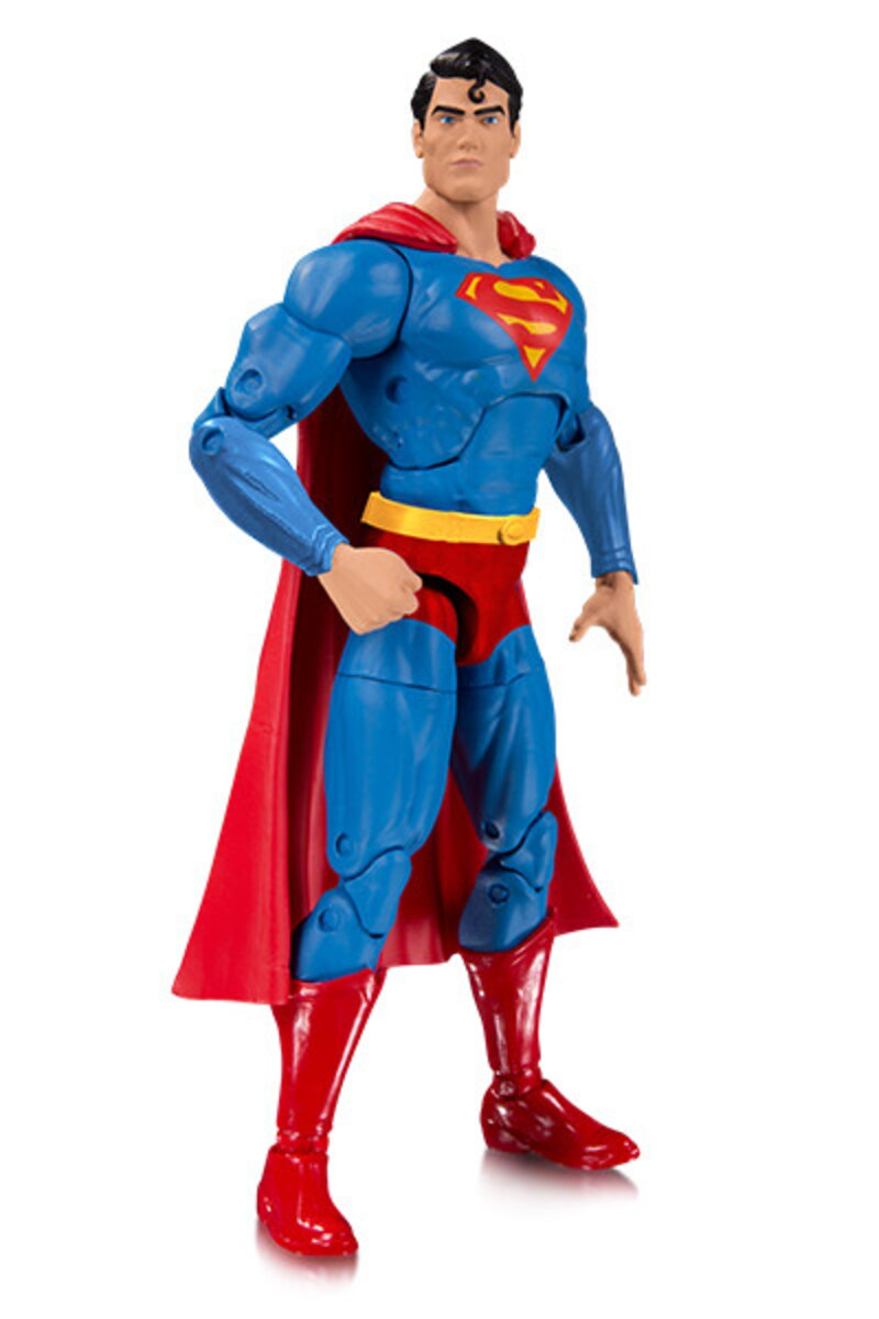 dc essentials 7 action 1000 red trunks superman figure from dc
