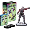 Suicide Squad Blu-Ray Amazon Exclusive Sets With Deadshot & Harley Quinn Figurines