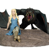 Games Of Thrones Daenerys And Dragon Limited-Edition Statue