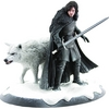 Game Of Thrones Jon Snow & Ghost Statue