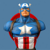 Marvel Icons: Captain America Bust