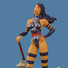 Premiere Collection: Psylocke Statue