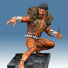 Spider-Man Sinister Six: Kraven Medium Statue