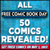 Free Comic Book Day Full Line-Up of Comic Books Announced