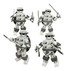 2015 SDCC Exclusives DST TMNT Black & White Minimates &
