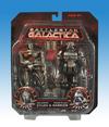 Battlestar Galactica Cylon Vs. Cylon in this Daybreak 2-pk Packaged Pics