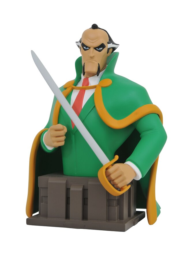 batman the animated series ra 39 s al ghul bust from dst. Black Bedroom Furniture Sets. Home Design Ideas