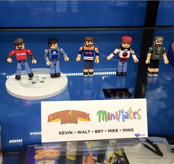 Lucifer Season 4 April: Minimates Based On Kevin Smith's Comic Book Men Coming In 2015