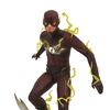 DCTV The Flash Gallery PVC Statue From DST