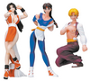 King Of Fighters: Girls Mini-Figures Set #2