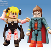 Previews Exclusive Street Fighter Demitri And Morrigan Minimates