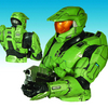 Halo Spartan Mark VI Armor Bust Bank