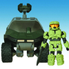 Halo Minimates Warthog Vehicle Set