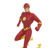 DC Justice League Animated Series The Flash PVC Figure