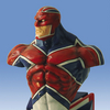 The Marvel Universe: Captain Britain Bust