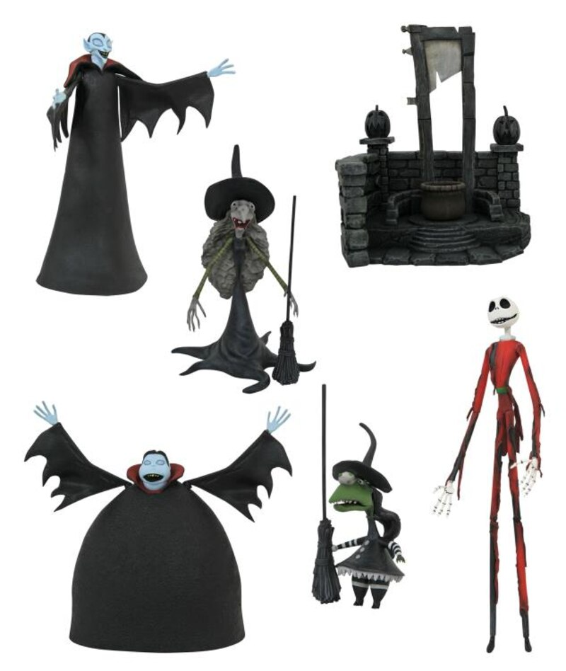 The Nightmare Before Christmas Select Series Wave 8 From DST