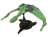 Diamond Select Toys Star Trek Klingon Bird of Prey Electronic Ship Prototype Test