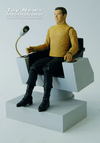 SDCC Star Trek Exclusive Captain James T. Kirk Captain's Chair Box Set