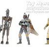 Previews Exclusive Star Wars Bounty Hunter Action Figure set!