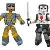 DST & Valiant Debut New X-O Manowar/Bloodshot Minimates Two-Pack