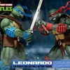 Official Teenage Mutant Ninja Turtles 1/6 Leonardo & Raphael Figure Images From DreamEX