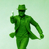 Nothing Says St. Patrick's Day Like  A Green Super Hero...Green Hornet, That Is