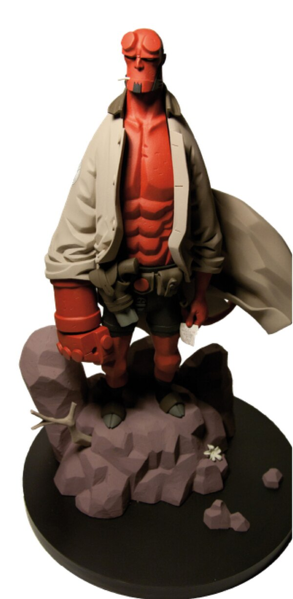 1  6th scale mike mignola u2019s hellboy statue