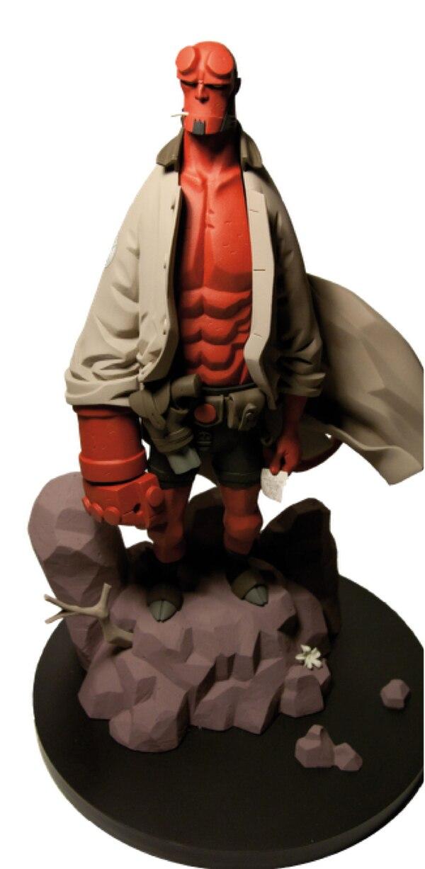 1 6th Scale Mike Mignola S Hellboy Statue Action