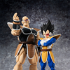 Dragon Ball Z Official S.H. Figuarts Nappa & Vegeta Figures Up For Pre-Order