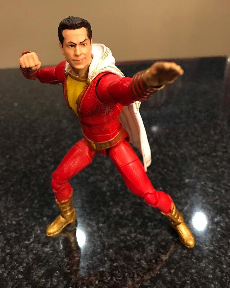 """Shazam Action Figure DC Multiverse 6/"""" Shazam Movie"""