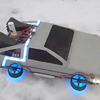 RC Model Flying DeLorean Time Machine From Back To The Future