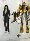 Hot Toys 1/6 Scale Aliens Ripley And Power Loader Figures