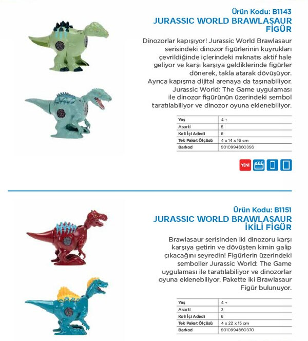Hasbro Jurassic World Toys Coming In 2015