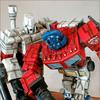 F4F Transformers Battlefield Pics - Prime VS Megatron