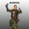 F4F DOOM Action Figures Series One - Sarge and Pinky