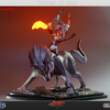 Wolf Link and Midna 1/4 Scale Statue from First 4 Figures