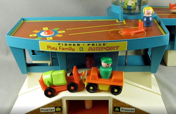 Garage Little People : Fisher price little people retrospective part 3 airport jet and