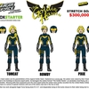 The Goldie Hawks debut as stretch goals for Eagle Force Kickstarter