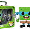 2014 SDCC Exclusive Funko TMNT SpongeBob SquarePants and Shredder Plankton POP!